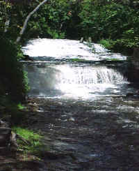 The Falls Alongside the Stone Mill